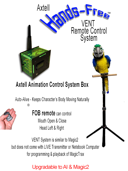 Hands-Free Mega Macaw VENT System