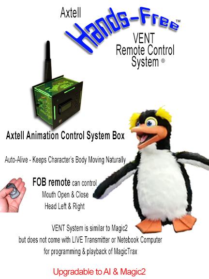 Animatronic Hands-Free Penguin VENT System