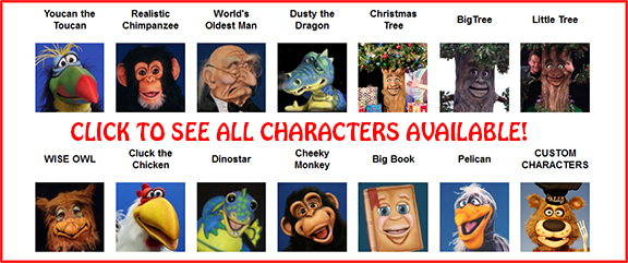 Hands-Free Characters by Axtell Expressions