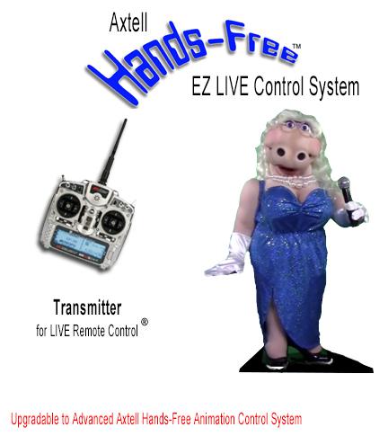 Animatronic Hands-Free Hippo EZ LIVE System