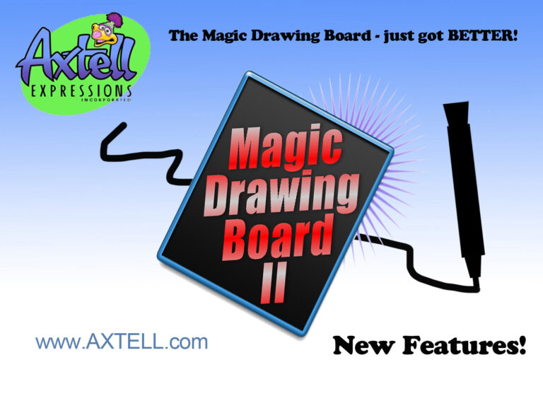 Magic Drawing Board 2 by Axtell Expressions