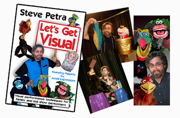Let's Get Visual Steve Petra DVD