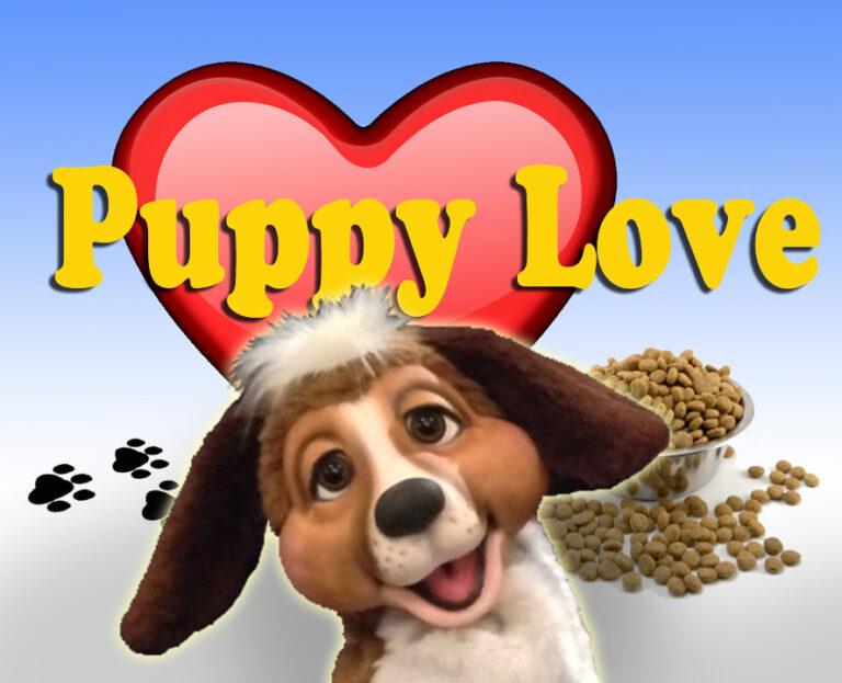 Puppy Love Puppy Puppet