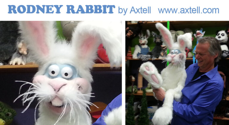 Rodney Rabbit Puppet by Axtell Expressions