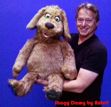 Shaggy Dog Puppet by Axtell Expressions