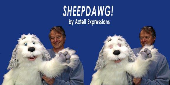 Sheepdog Puppet by Axtell Expressions