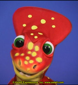 Sylvia Fletcher's Customized Dino