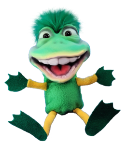 Dinky Frog Green