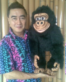 Lou Hillario with his new customized Bongo