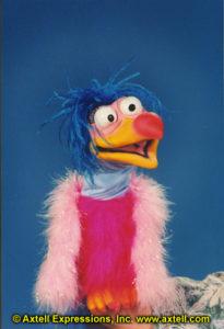 Buffy Bird Puppet