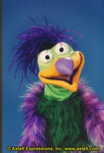 Baby Birds Ideas - Benny Bird Puppet