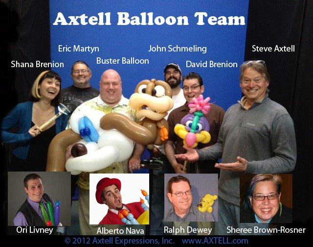 Axtell Balloon Team