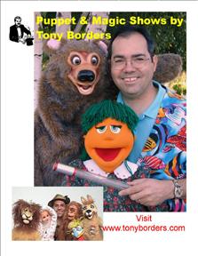 Tony Borders & His Famous Bear.