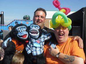 UK Bongo Party - Krazy Karl and Paul Davis