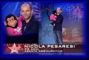 Nicola Pesaresi on Italy's Got Talent