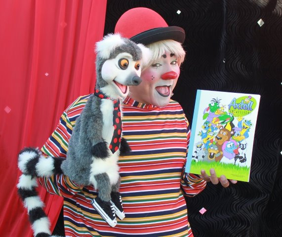Capy with the Lemur & Coloring Book
