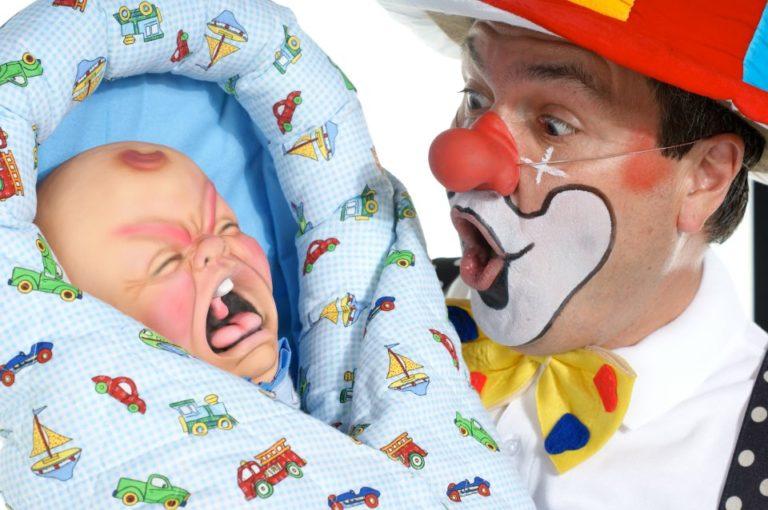 Siegfried Krische with Cry Baby