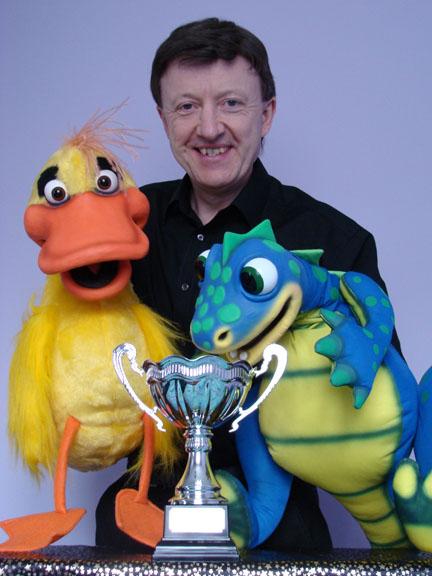 "David Tomkins – Won an ""International Children's Entertainer"" Award"