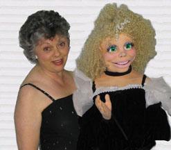 Sydney Gay Kislevitz and her singing Diva