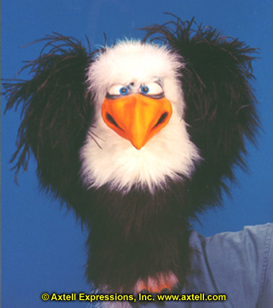 Eagle Puppet by Axtell Expressions