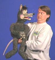 Axtell Neurotic Rat Puppet