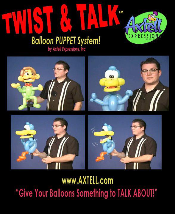 Twist and Talk Balloon Prop