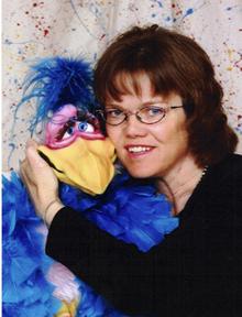 Val Hilliker with Verna