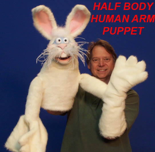 Half Body Rabbit Puppet by Axtell Expressions