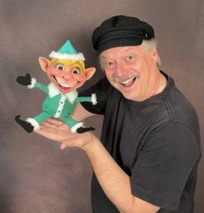 Steve Axtell with the Dinky Elf