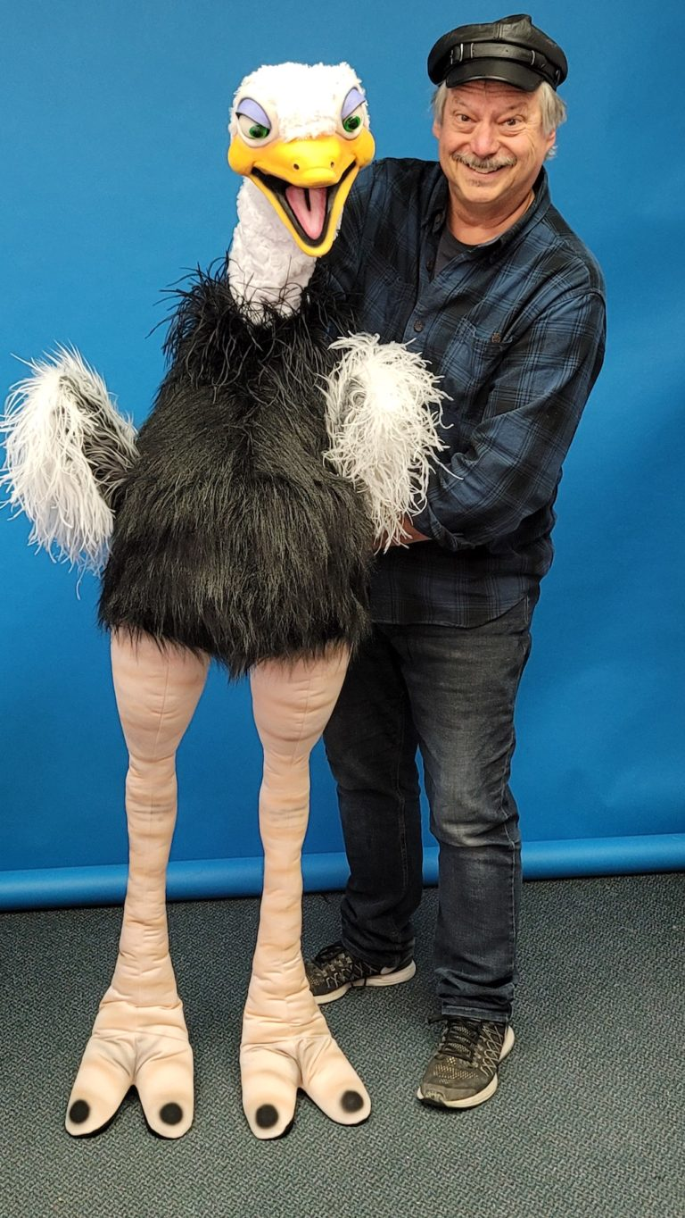 Ostrich Puppet by Axtell Expressions