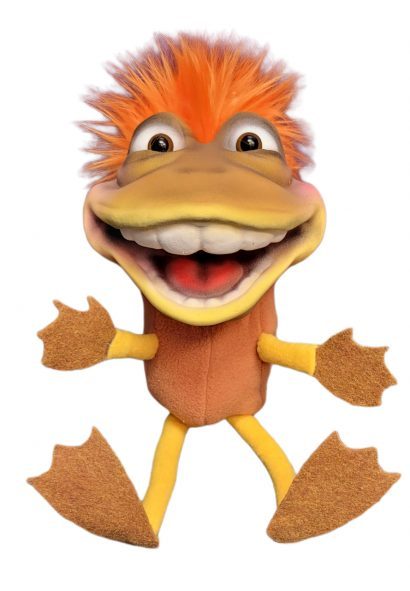 Dinky Frog Brown