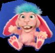 Dinky Pink Rabbit
