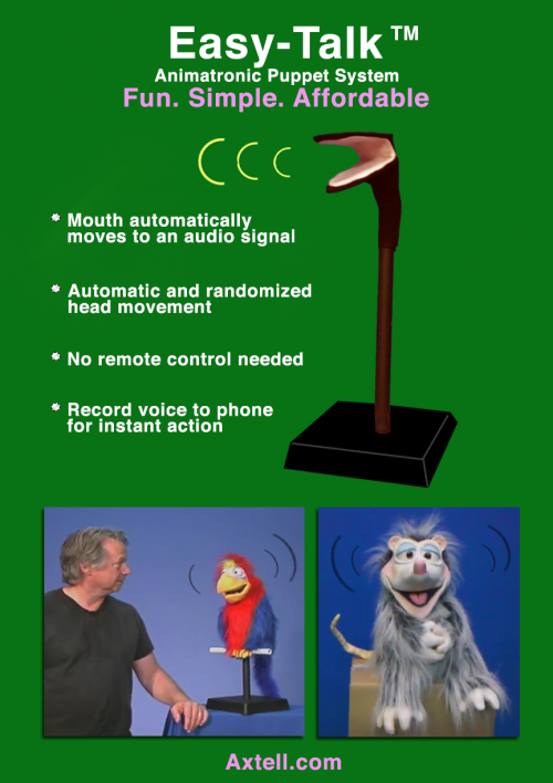 Easy-Talk Animatronic System