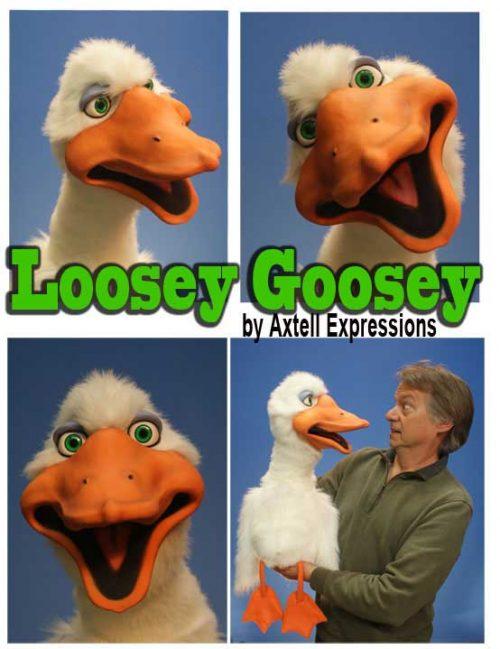 Goose Puppet