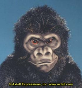 Gorilla Ape Puppet by Axtell Expressions