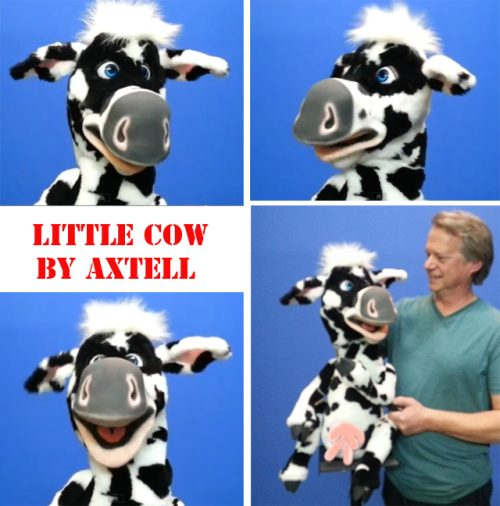 Little Cow Puppet by Axtell Expressions