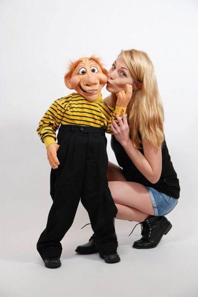 Crina Zvoboda with her Louie!