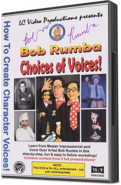 Choice of Voices by Bob Rumba