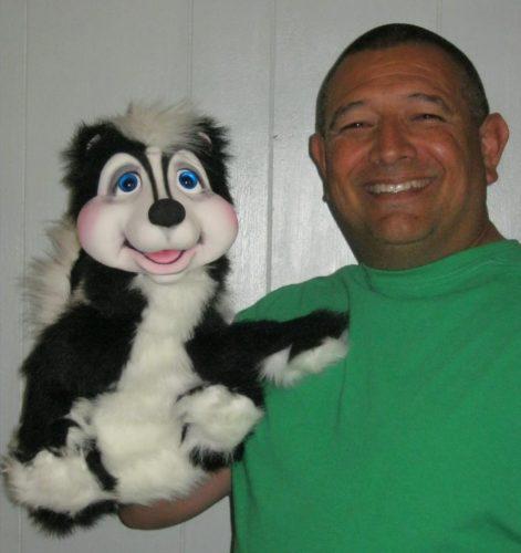 Eddie Siller with his Skunk