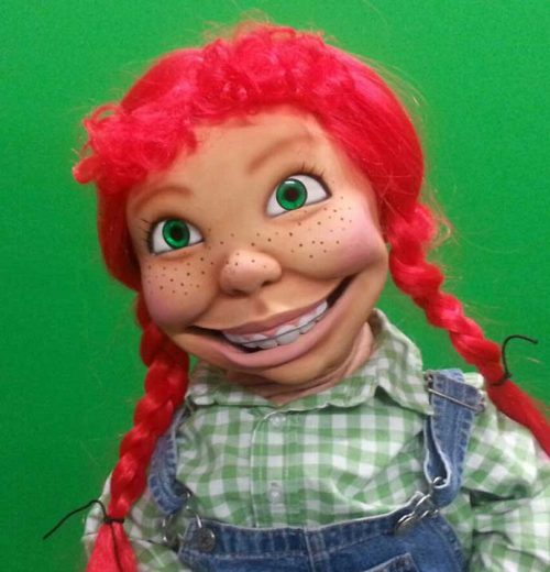 Silly Sue Girl Puppet with Red Hair