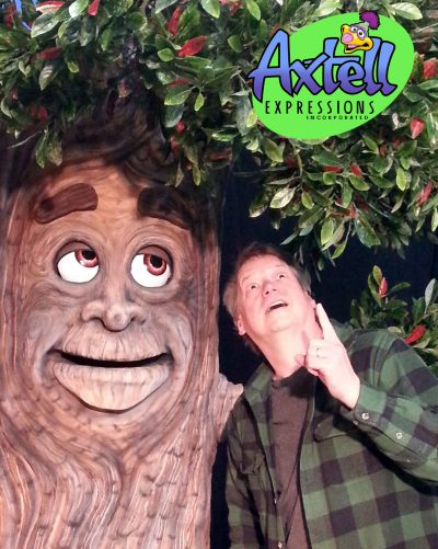 Animatronic Tree Puppet by Axtell Expressions